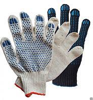 Перчатки хозяйственные трикотажные