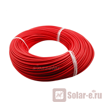 Кабель солнечный  6 мм2 (Красный)