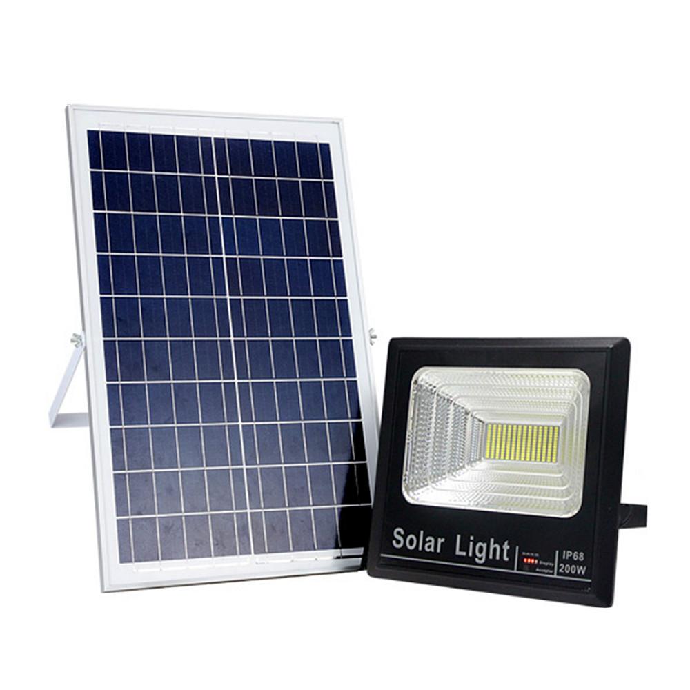 Прожектор на солнечной батарее светодиодный