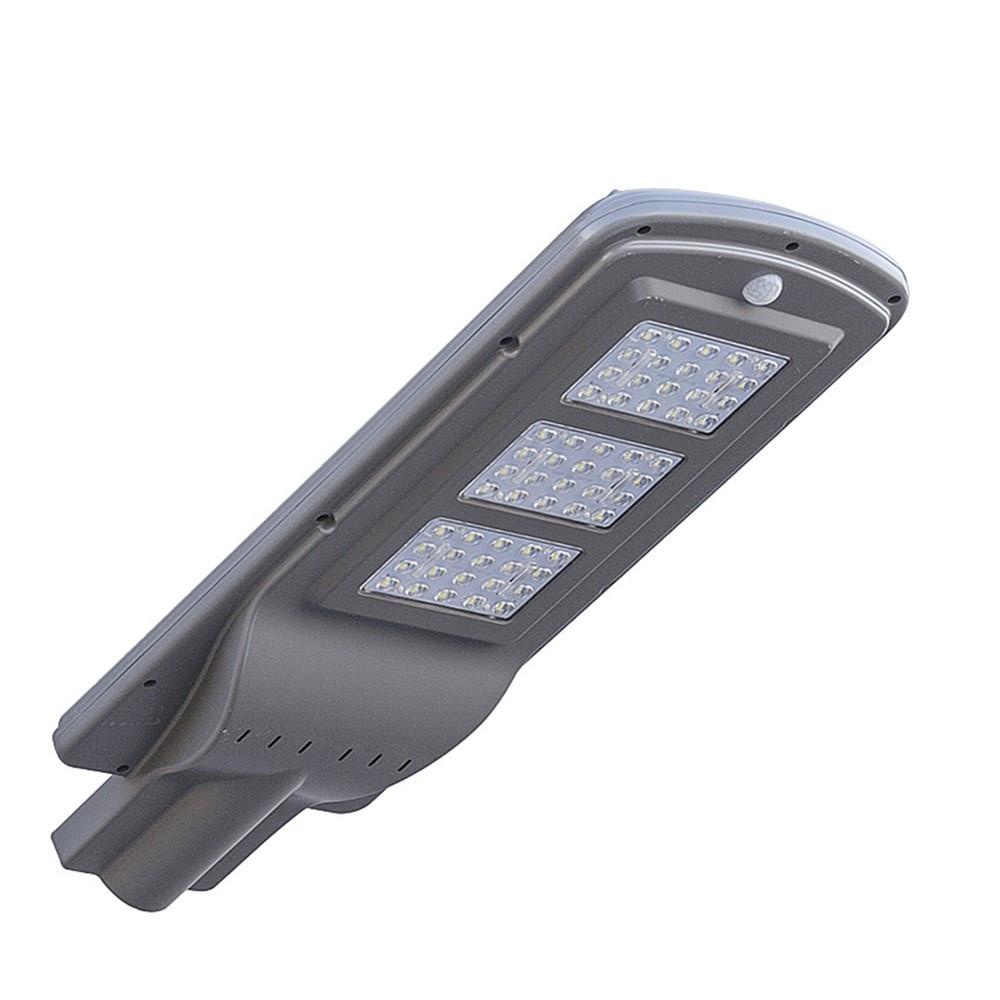 Уличный фонарь на солнечной батарее с датчиком движения
