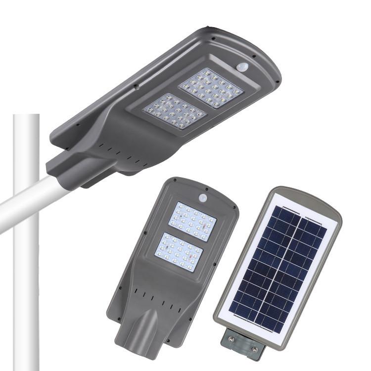 Уличный светильник на солнечных батарейках