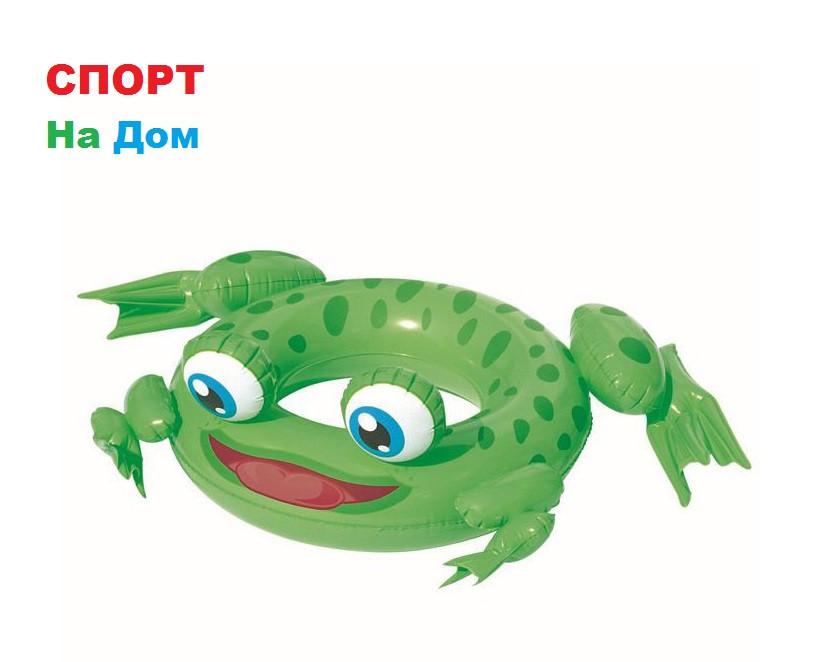 """Надувной круг для детей от 3 до 6 лет Bestwey 36059 """"Лягушонок"""" (61 х 102 см)"""