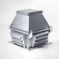 Вентиляторы крышные радиальные серии VKRS с выбросом потока воздуха в стороны.