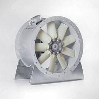 Осевые вентиляторы с опорной рамой