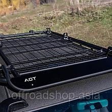 Багажник на крышу ACT и крепёжная принадлежность для доп. света и туристического оборудования