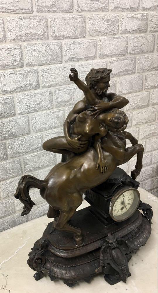 "Часы каминные"" Кентавр"" - фото 4"