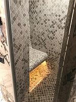 """Паровая комната (хамам). Размер = 1,1 х 1,75 х 2,5 м. Адес: г. Алматы, ж.к. """"ROYAL GARDENS"""". 5"""