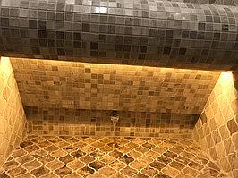 """Паровая комната (хамам). Размер = 1,1 х 1,75 х 2,5 м. Адес: г. Алматы, ж.к. """"ROYAL GARDENS"""". 8"""