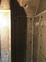 """Паровая комната (хамам). Размер = 1,1 х 1,75 х 2,5 м. Адес: г. Алматы, ж.к. """"ROYAL GARDENS"""". 40"""