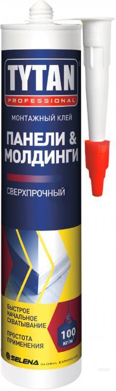 Клей монтажный для панелей и молдингов бежевый 310 мл/ TYTAN