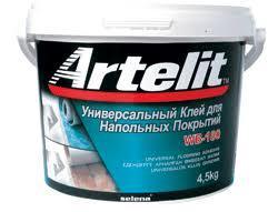 Клей универсальный для напольных покрытий WB-180 4 кг/ ARTELIT
