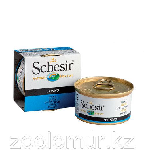 Schesir консервы для кошек (с тунцом) 85 гр.