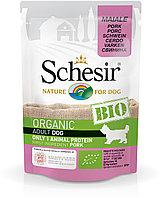 Schesir Bio консервы для собак, свинина 85г, фото 1