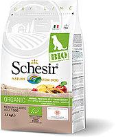 Schesir Bio сухой корм для собак средних и крупных пород, домашняя птица 2.5кг, фото 1