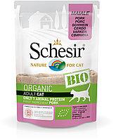 Schesir Bio консервы для кошек, свинина 85г, фото 1