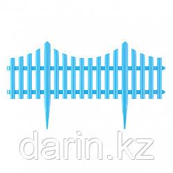 """Забор декоративный """"Гибкий"""", 24 х 300 см, голубой, Россия, Palisad"""