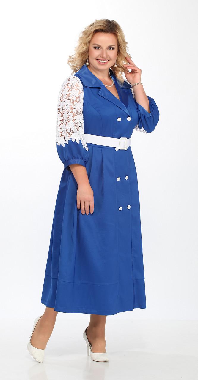 Платье Lady Secret-3595, василек, 52