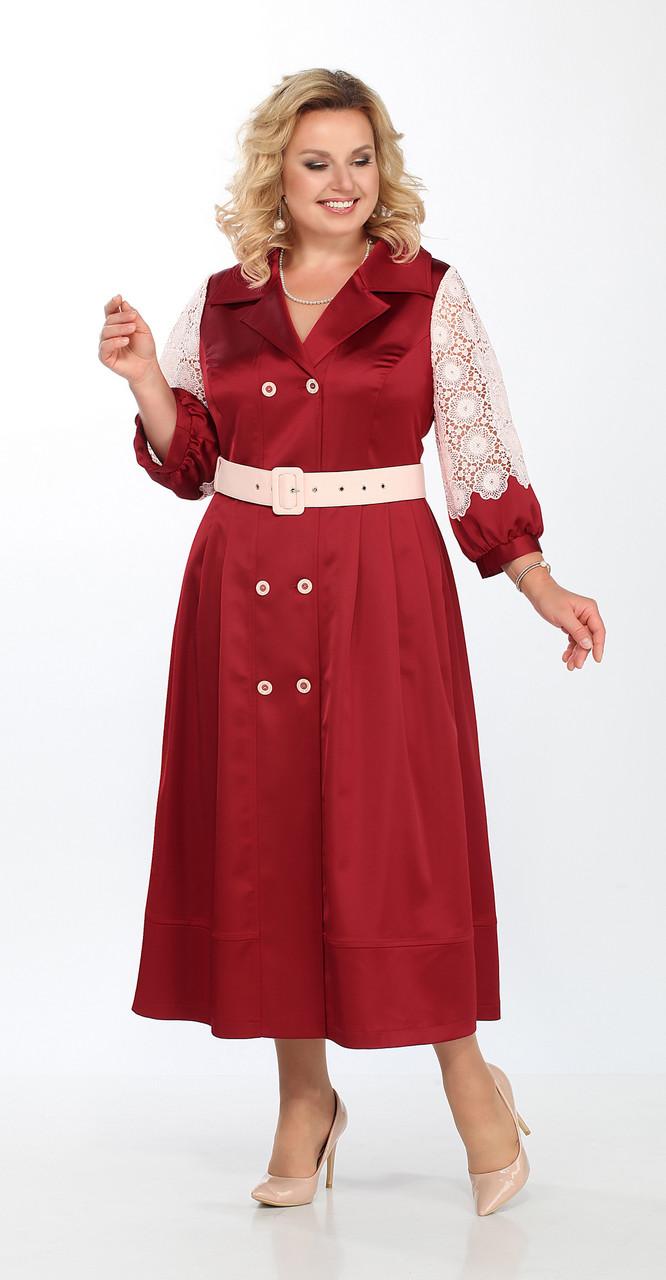 Платье Lady Secret-3595/4, красный, 52