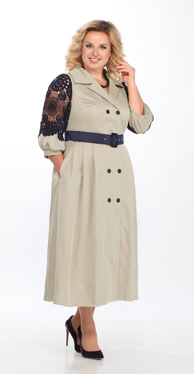 Платье Lady Secret-3595/7, бежевый, 52