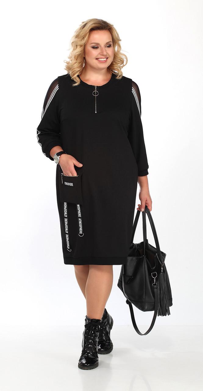 Платье Lady Secret-3603, черный, 52