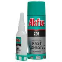 Клей двухкомпонентный для экспресс склеивания 200 мл/ AKFIX