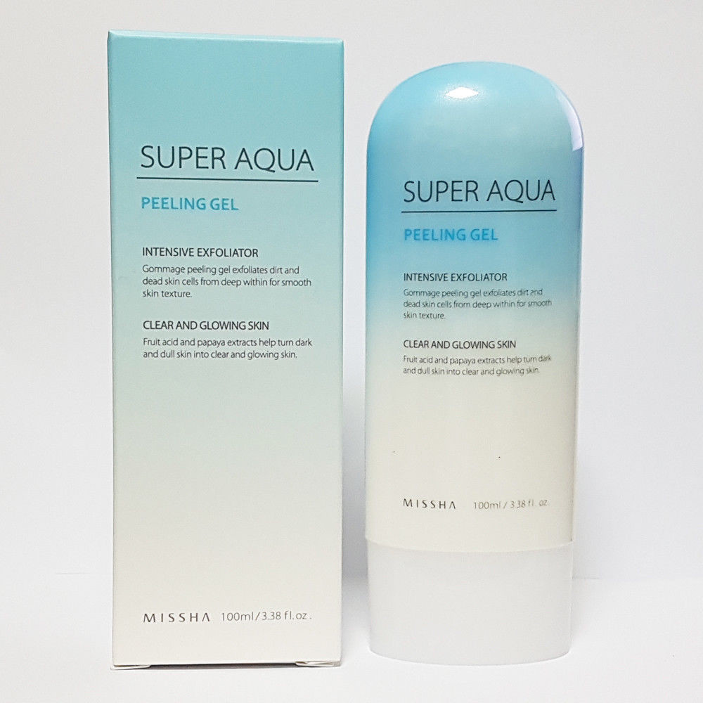Пилинг - гель для лица Missha Super Aqua Peeling Gel 100 ml
