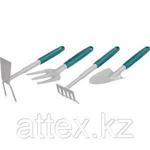 Набор RACO садовый: cовок 4207-53481, грабельки -53484, мотыжка -53486 4225-53/475