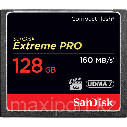 CompactFlash Sandisk extreme pro  128GB  160MB/S, фото 2