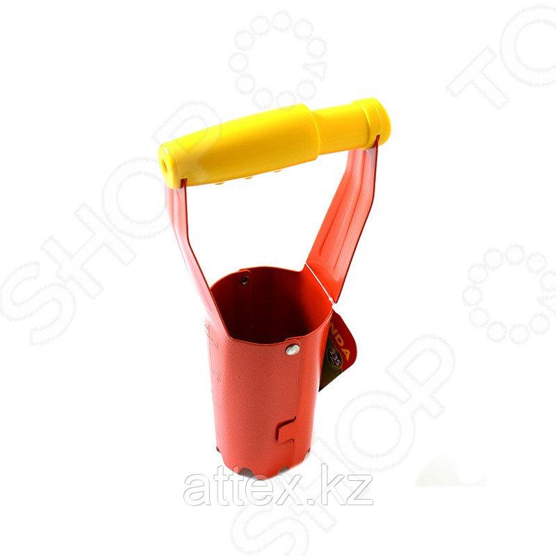 Конус GRINDA посадочный для рассады, из углеродистой стали с деревянной ручкой, 235 мм 8-421225_z01