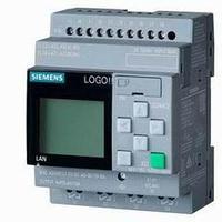 6ED1052-1MD08-0BA0 LOGO! 12/24RCE, логический модуль, дисплей, напряжение питания/входов/выходов: =12/24 В/реле, 8 DI (4AI)/4DO