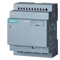 6ED1052-2MD08-0BA0 LOGO! 12/24RCEO, логический модуль, без дисплея, напряжение питания/входов/выходов: =12/24 В/реле, 8 DI (4AI)/4DO
