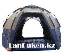 Палатка шатёр автомат с полом, москитными сетками и двумя входами на замках TUOHAI 1907 (четырехместная)