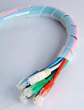 Спиральная лента (серпантиновая трубка) D=6 (10 метров в рулоне)