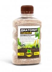 Почвоулучшитель и природный инсектицид диатомит садовый 0,25 л