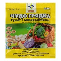 """Гумат+микроэлементы """"Чудо грядка"""" (100 г)"""