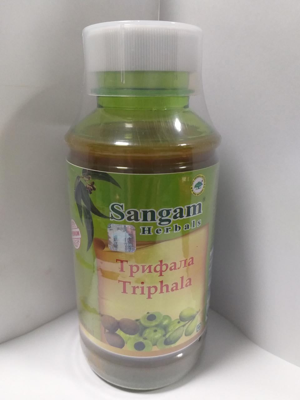 Сок Трифалы ,от компании Сангам 500 мл