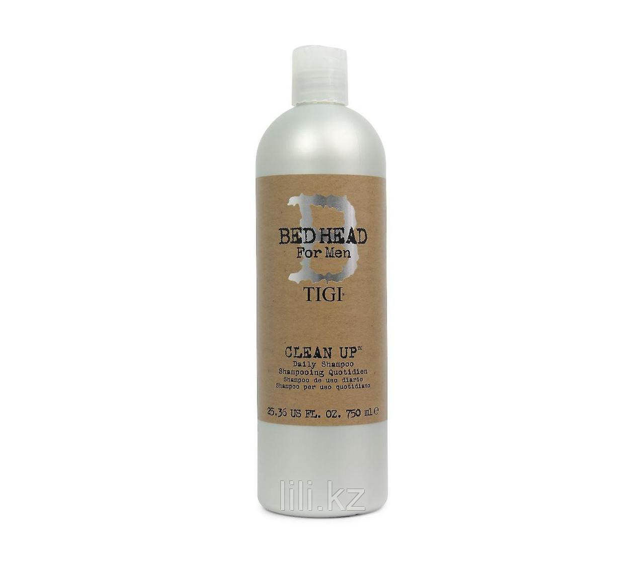 Шампунь для ежедневного применения Bed Head B for Men Clean Up Daily Shampoo 750 мл.