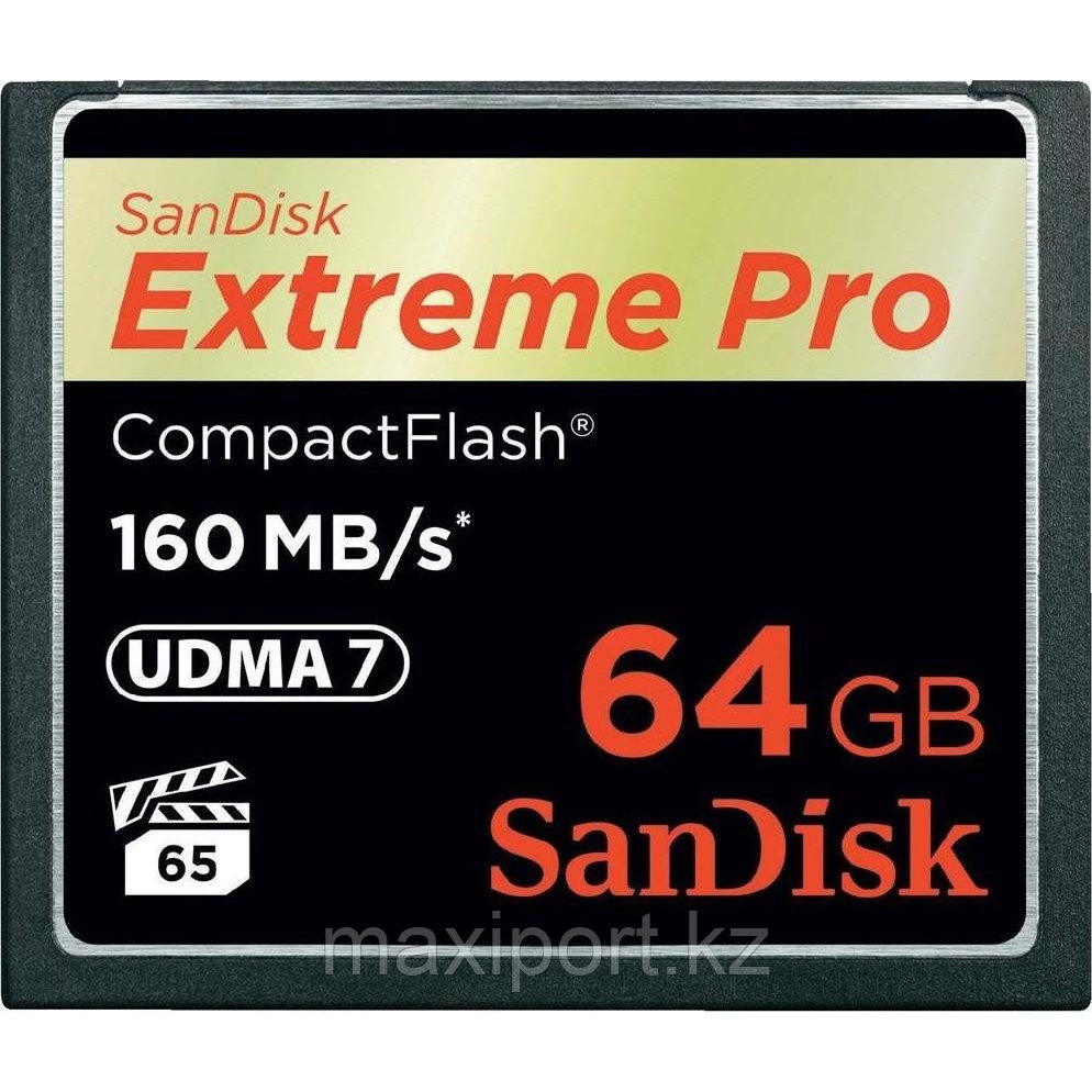 CompactFlash Card Sandisk extreme pro  64GB  160MB/S