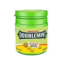 Жев.конфеты Doublemint Лимон и Мята  в банке 80гр