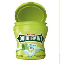 Жев.конфеты Doublemint Ледяная Мята  в банке 80гр