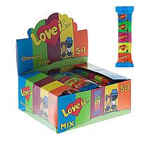 Жев. резинка LOVE IS  Мини Микс 21гр 5 в 1 (20 шт в упаковке)
