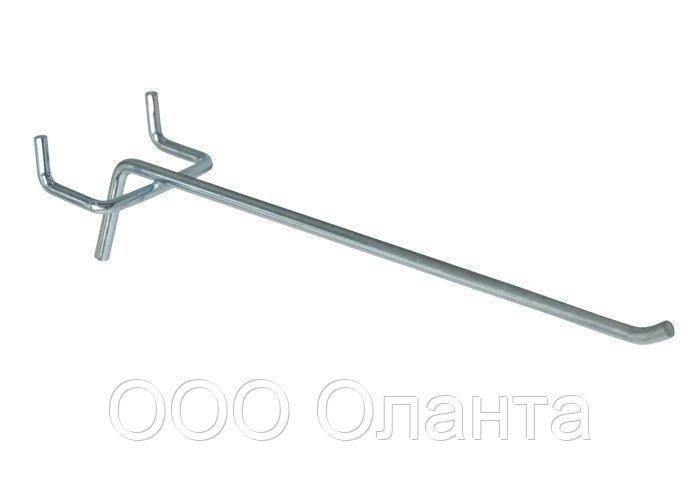 Крючок торговый одинарный (8х200 мм) цинк арт. ip50 1/8-200