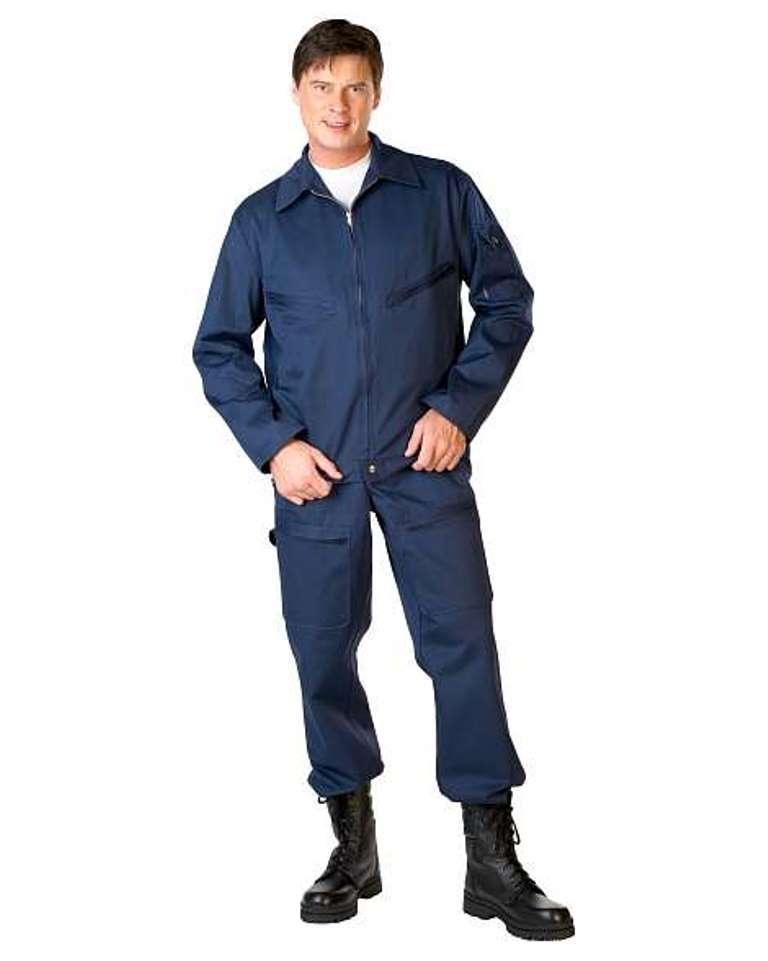 Костюм мужской летний лётный тип «А» синий