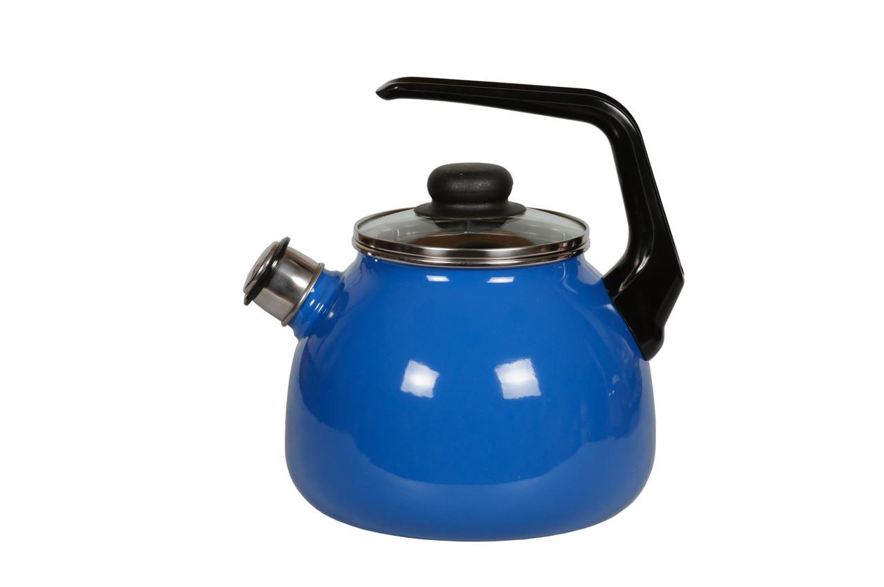 Чайник эмалированный со свистком Ocean 2 литра
