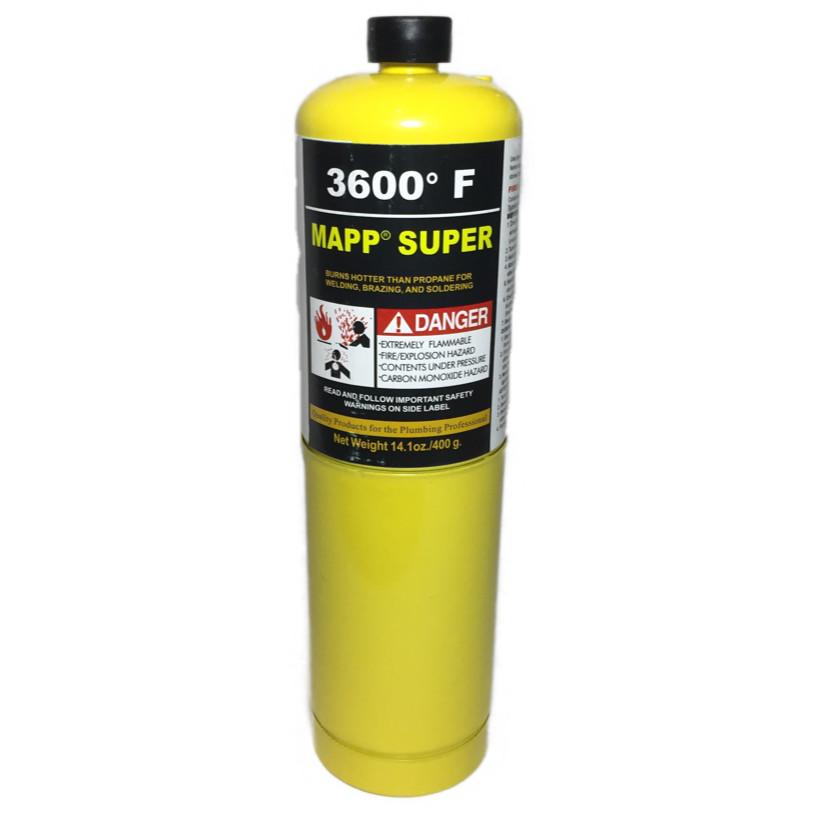 """МАПП газ в баллоне (0,4536 кг) 7/16"""""""