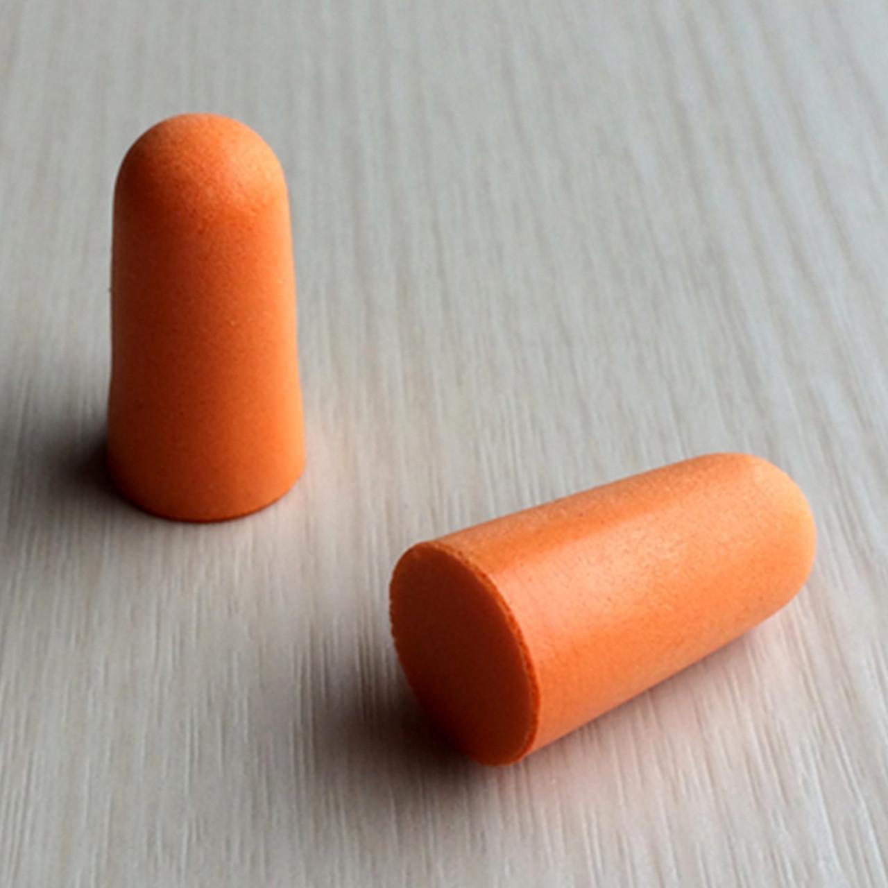 Беруши одноразовые в виде пули без шнурка (Вспененный пенополиуретан)