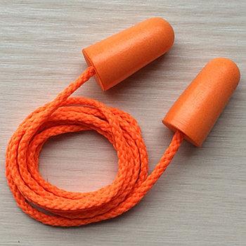 Беруши из пенополиуретана со шнурком