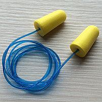 Беруши из пенополиуретана со шнурком, фото 3