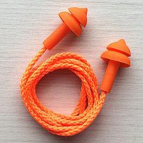 Беруши многоразовые (елочка) со шнурком, фото 6