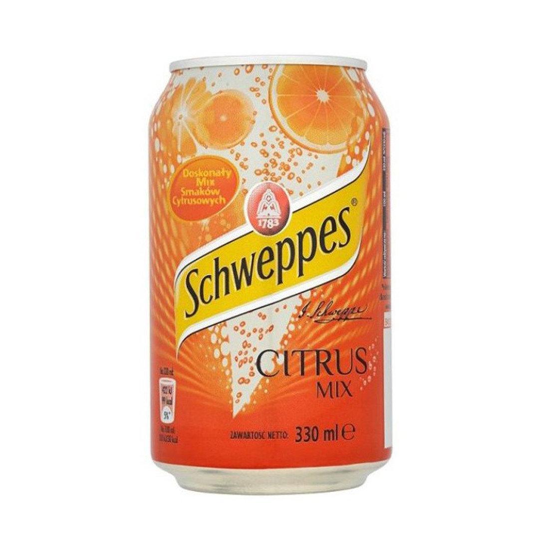 Schweppes Citrus Mix 0,33 литра